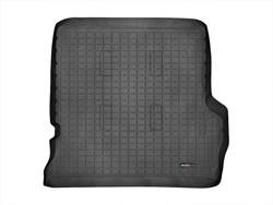 Picture of Cargo Liner - Black - With Rear Air Conditioning