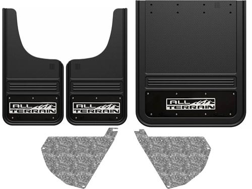 truck hardware gatorback mud flaps gmc all terrain with. Black Bedroom Furniture Sets. Home Design Ideas