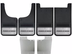 1999-2016 Ford F250/F350 Powerstroke Logo Gatorback Mud Flap Set