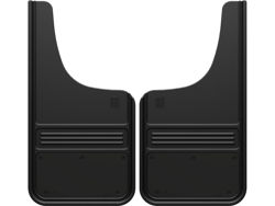 Truck Hardware Gatorback Mud Flaps - Black Powder Coat Plate