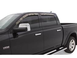 Stampede Tape-On Window Deflectors - Camo