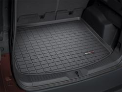 Picture of Cargo Liner - Black - Sedan - With Rear Subwoofer
