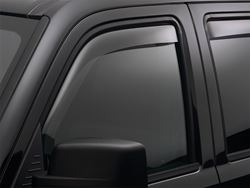 Picture of WeatherTech Side Window Deflector - Front - Light Tint - Extended Cab - Regular Cab - DISCONTINUED