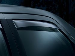 Picture of Side Window Deflectors - Rear Only - Rear Only Windows Pop Out - Light Tint - Regular Cab