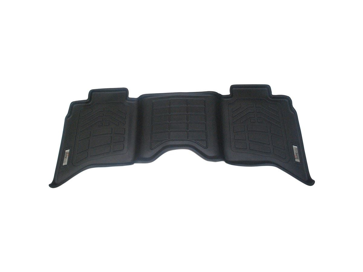Wade Sure Fit Floor Mat Black Rear 2nd Row Crew