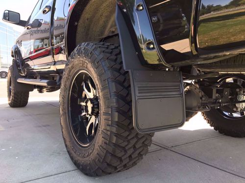 Mud Flaps For Lifted Trucks >> Truck Hardware Gatorback Lifted Truck Mud Flaps Sharptruck Com