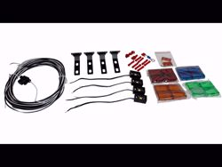 Picture of ICI RTS Step Light Kit - Includes 4 Lights & Colored Lens Kit