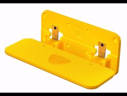 Picture of CARR Mega Step Hitch Mount - Safety Yellow - Fits 2 - 2.5