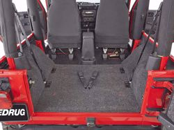 Jeep BedRug Floor Liner Kit