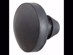 Picture of Curt Replacement Adjustable Channel Mount Anti-Rattle Rubber Bumper - For PN[45900]