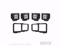 Westin Outlaw Bumper Light Kit - Square