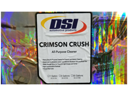 Secondary Safety Label - Crimson Crush All Purpose Cleaner