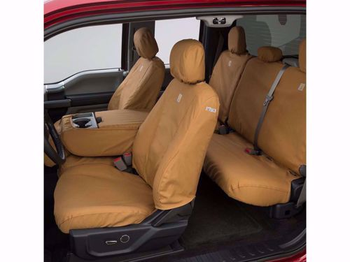 Carhartt Seat Saver With High Back Bucket Seats With Seat Console Not Used Or 40 20 40 Split High Back Bench Seat