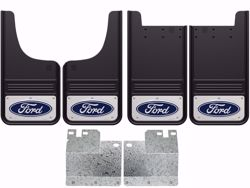Picture of 2004-2014 Ford F-150 Blue Oval Gatorback Mud Flaps - Set