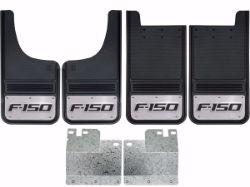 Picture of 2004-2014 Ford F-150 Logo Gatorback Mud Flaps - Set