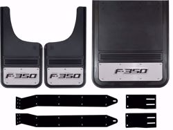 Picture of 2011-2016 Ford F-350 Logo Gatorback Dually Mud Flaps - Set