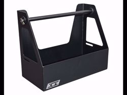 Picture of ICI Gas/Fuel Jug Rack - E-Coated-Black Textured Powder Coated Finish - Installation Hardware Included