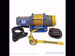 Picture of Westin Terra 35SR Winch - 3500 lbs. - 1.6hp - 12V - 3/16