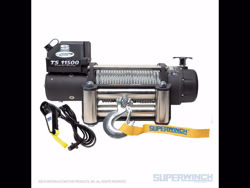Superwinch Tiger Shark 11500 Winch - 11,500 lbs. - Steel Rope