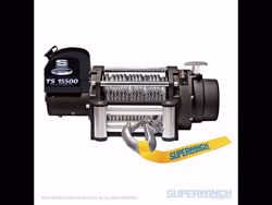 Picture of Superwinch Tiger Shark 15,500 Winch - 15,500 lbs. - Steel Rope