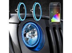 Picture of XK Glow Headlight Halo Kit - Jeep Wrangler JK