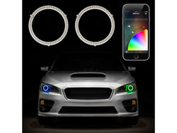 Picture of XK Glow Headlight Halo Kit - 90 mm
