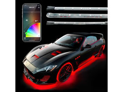 Picture of XK Glow Underglow + Interior LED Accent Light Kits - Advanced