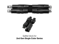 Picture of XK Glow 1 TO 3 Splitter Block Single Color Add On