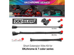 Picture of XK Glow Motorcycle Extension Wire Kit  XKChrome or 7 Color Add On
