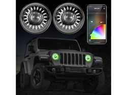 XK Glow Jeep Headlights