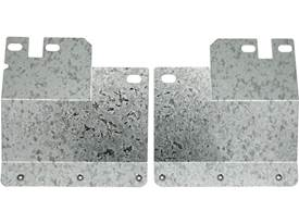 """Picture of Custom Fit 12"""" Rear Mud Flap Brackets"""