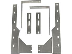 "Picture of Universal Dually ""L"" Brackets - For 19"" or 21"" Wide Mud Flaps"
