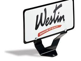 Westin Bull Bar License Plate Bracket - Universal