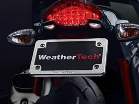 WeatherTech Billet Motorcycle License Plate Frame