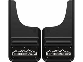 Picture of Truck Hardware Gatorback Mud Flaps - Chevy High Country With Black Wrap