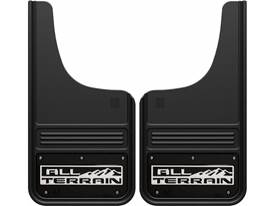 Picture of Truck Hardware Gatorback Mud Flaps - GMC All-Terrain With Black Wrap