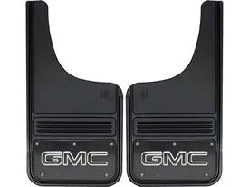 Picture of Truck Hardware Gatorback Mud Flaps - GMC With Black Wrap