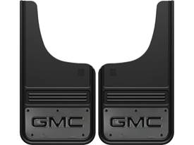 Picture of Truck Hardware Gatorback Mud Flaps - GMC With Gunmetal Finish