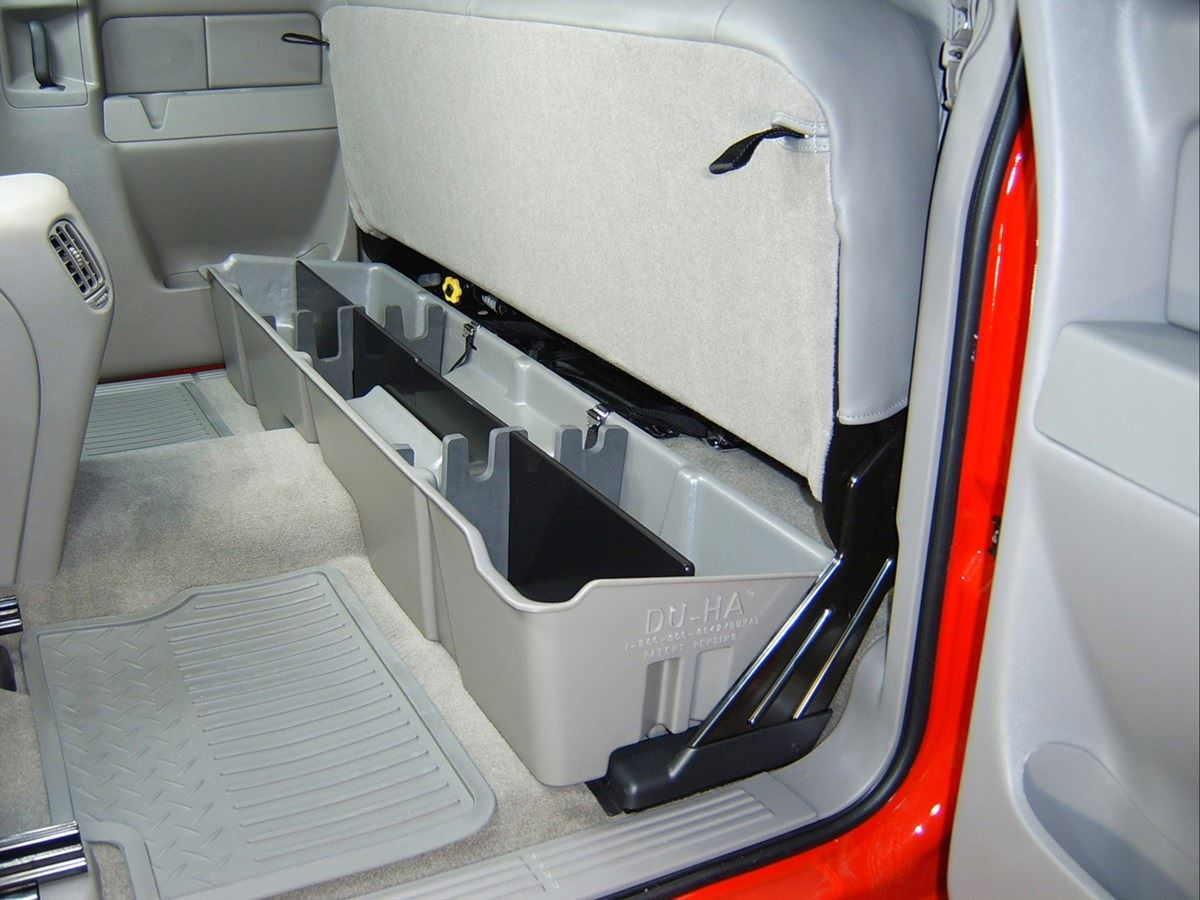 Du Ha Underseat Storage Dark Gray Extended Cab 10001