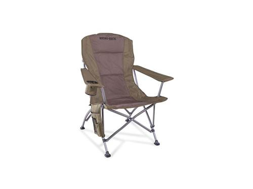 Picture of High Back Camping Chair - Includes Cushioned Back - Side Pocket - Insulated Drink Holder - Carry Bag - Load Rating 300 lb. - 600D PVC Fabric