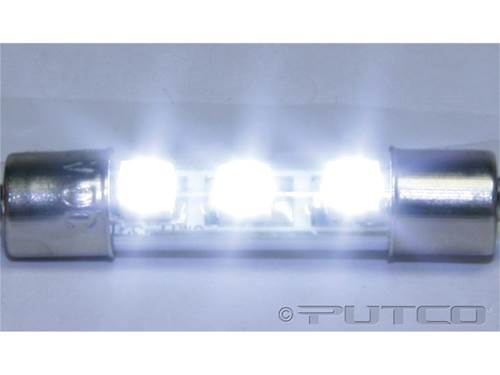 Picture of LED Replacement Bulb - 3 LED 12 VDC Vanity Mirror Bulb -