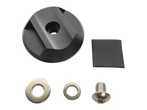 Picture of Cyclone LED Tube Mount Adapter - No Strap - Incl. Screw - Washer - Mount - Rubber Pad