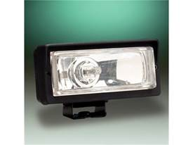 "Picture of 26 Series Long Range Light - 2"" x 6"" Rectangle - Clear Lens - Black Plastic Housing - 55 Watts - Single Light"