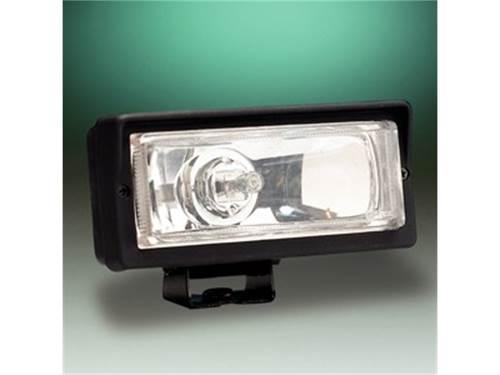 "Picture of 26 Series Long Range Light - 2"" x 6"" Rectangle - Clear Lens - Black Plastic Housing - 55 Watts - Single Light"