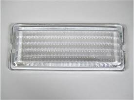 "Picture of Flood Light Lens - 2"" x 6"" Rectangle - Clear Glass Lens - Single - For Use w/PN[517/1763] 26 Series Lights"