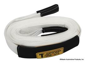 "Picture of T-Max Winch Snatch Strap - 17500 lb. - 2 3/8."" x 30'"