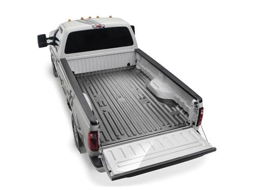 """Picture of WeatherTech TechLiner - Bed Mat - Black - 8' 2"""" Bed"""