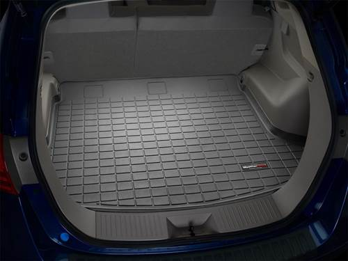 """Picture of Cargo Liner - Black - Behind 2nd Seat - With Stow & Go Seats - 119.3"""" Wheelbase"""