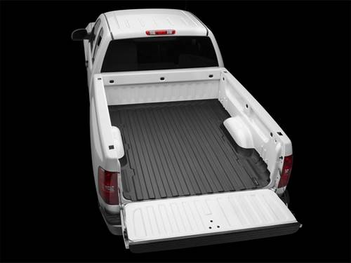 "Picture of WeatherTech TechLiner - Bed Mat - Black - 6' 6.8"" Bed"