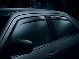 Picture of Side Window Deflectors - Dark Tint - Crew/Extended Crew Cab